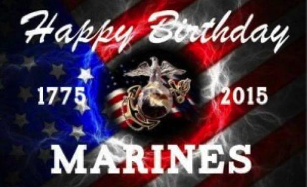Happy Birthday, USMC!!